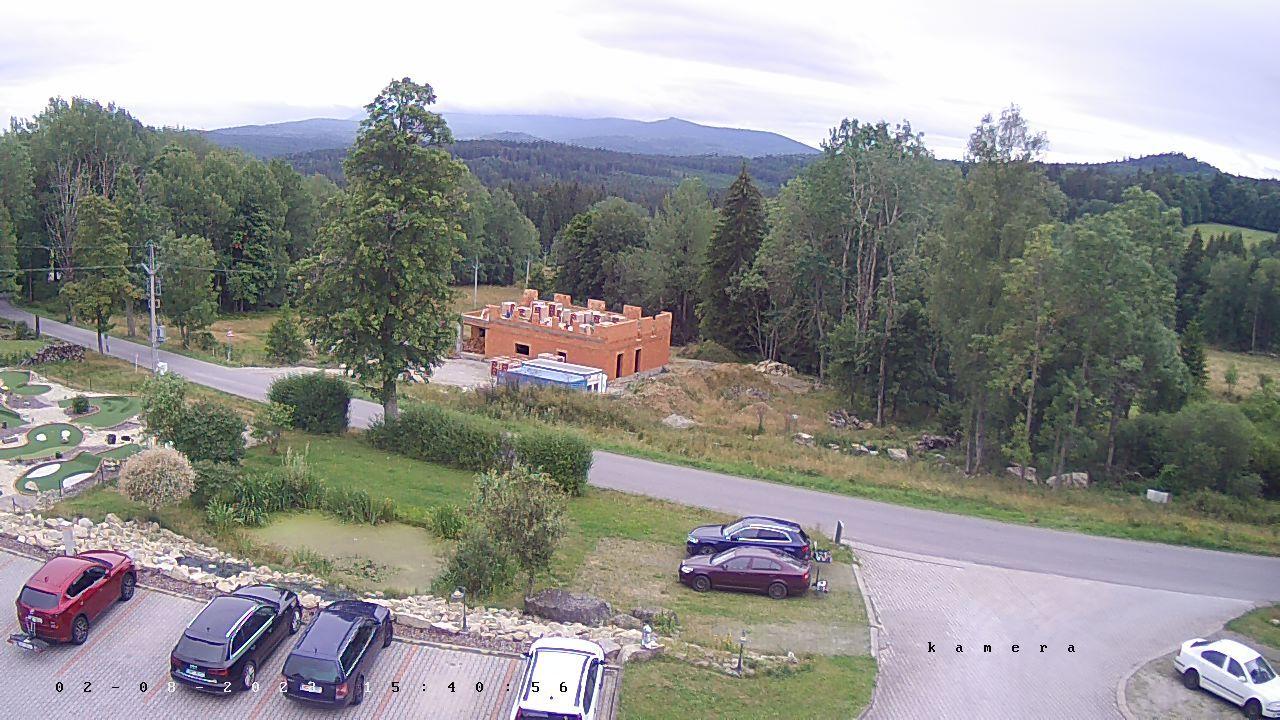 Webová kamera - Hotel České Žleby